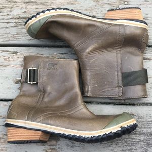 Sorel}• slimpack shortie winter ankle boots